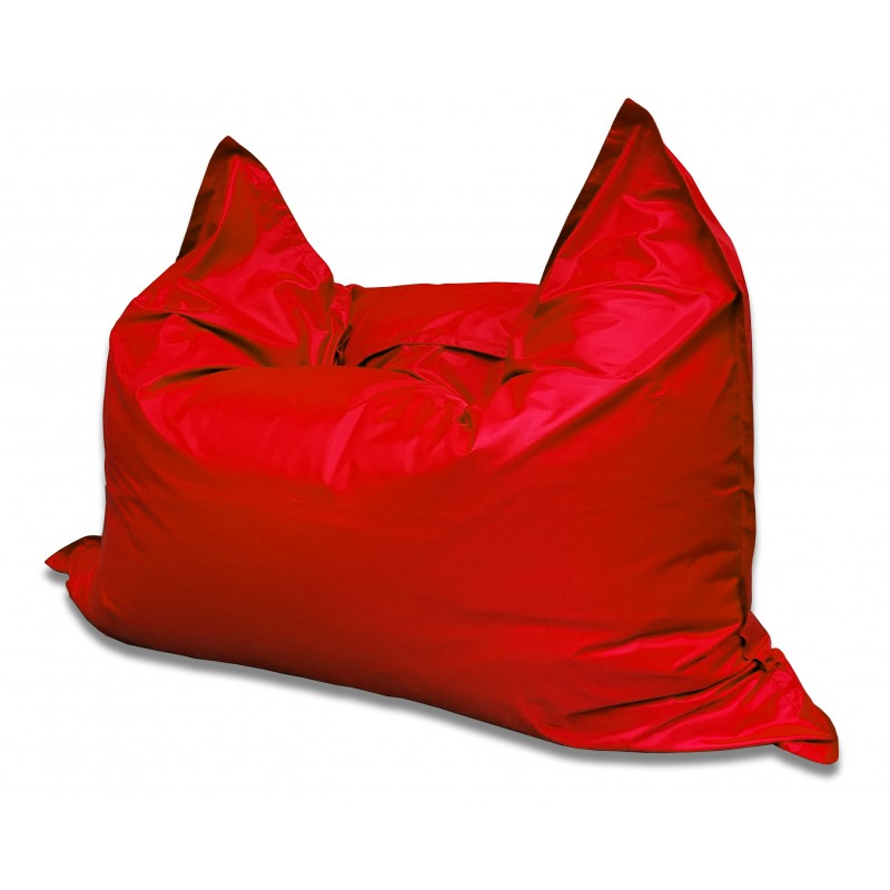 Мягкое кресло-мешок Подушка цвет Красный (материал Дюспо)