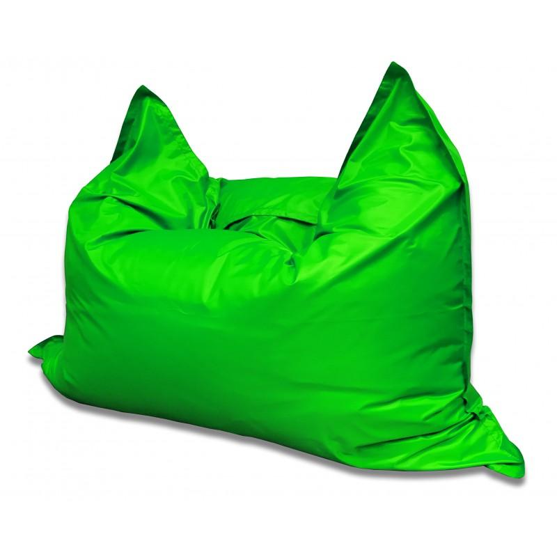 Кресло-мешок Подушка  Зеленая (Оксфорд)