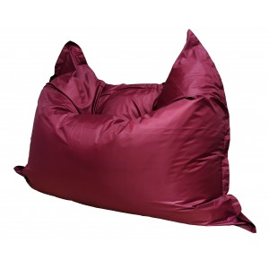 Кресло-мешок Подушка Бордовая (Оксфорд)