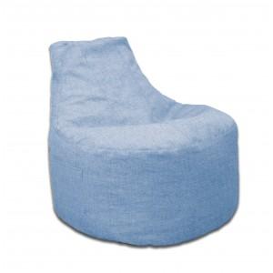 Кресло-мешок банан Рогожка (Небесный)