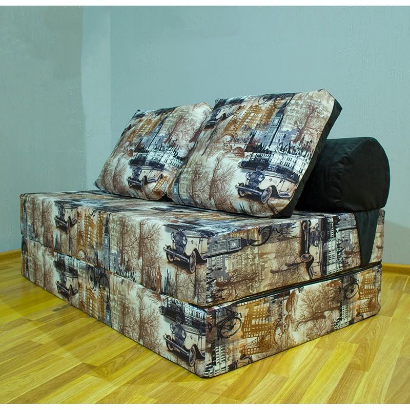 Диван Sofa Roll Long 140х90х20 Parsi (Велюр)
