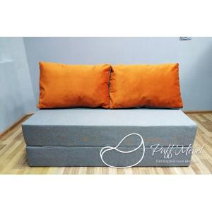 Диван трансформер Sofa Roll Рыже-фиолетовый