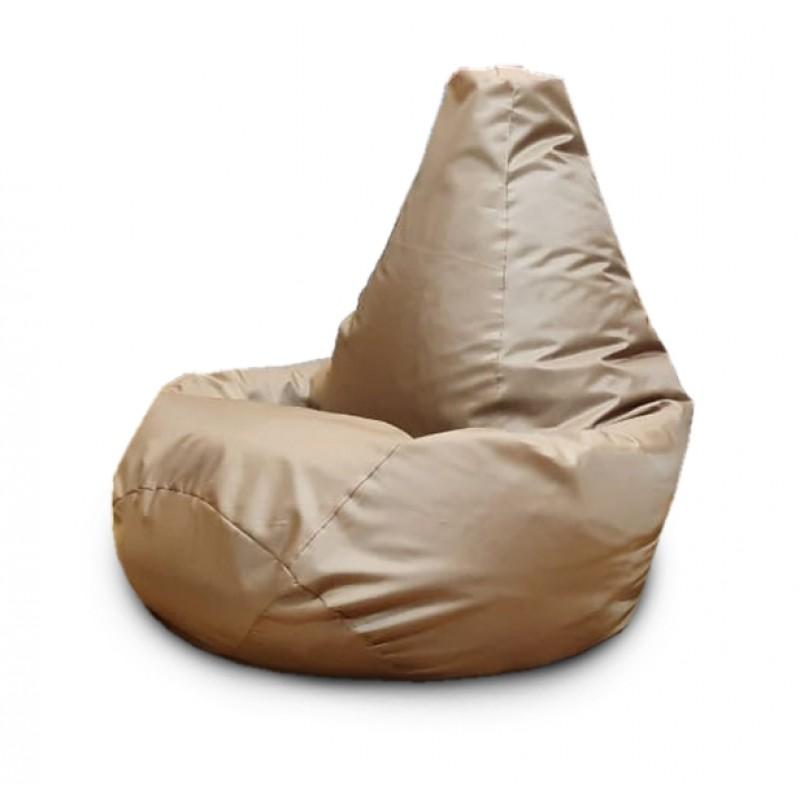 Кресло-мешок Груша Бежевый(Оксфорд)