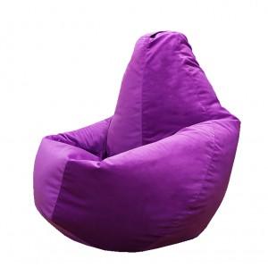Кресло-мешок груша Фиолетовый (Велюр)