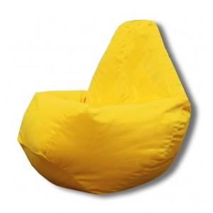 Кресло-мешок груша Желтый (Велюр)