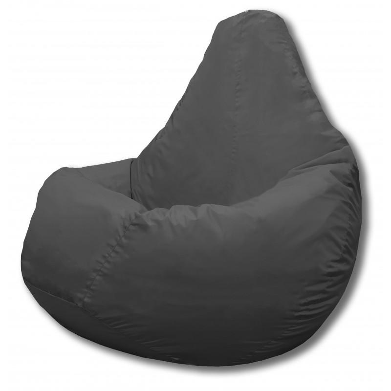Кресло-мешок Груша Серый (Дюспо)