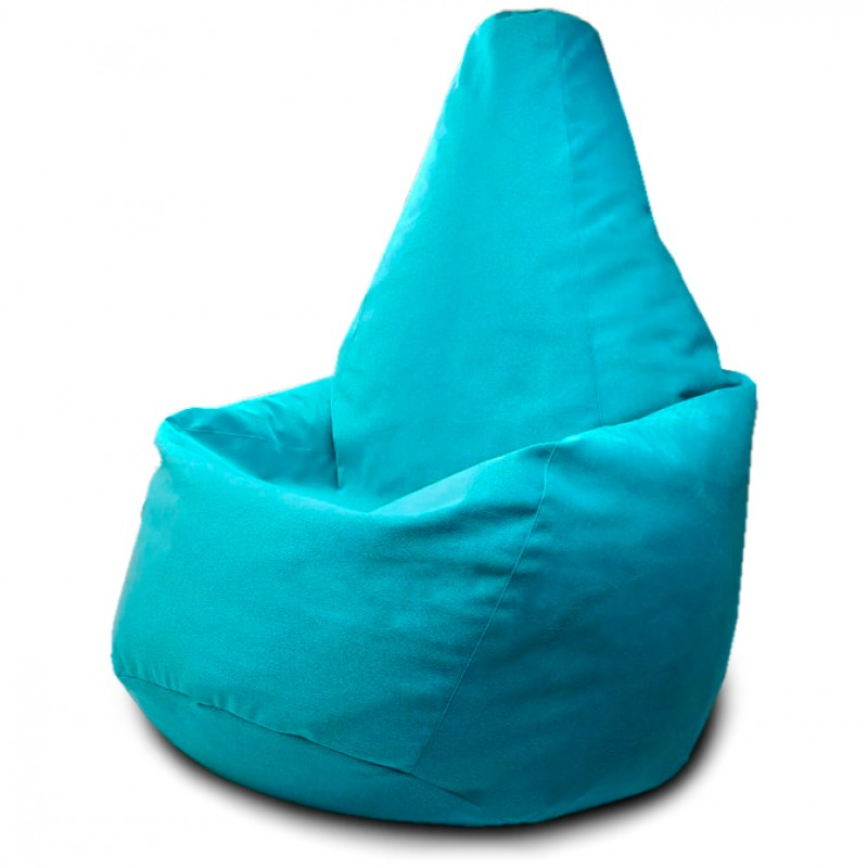 Кресло-мешок груша Мятный (Велюр)