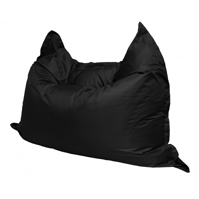 Кресло-мешок Подушка  Черная (Оксфорд)