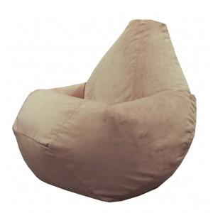 Кресло-мешок груша Бисквит (Велюр)