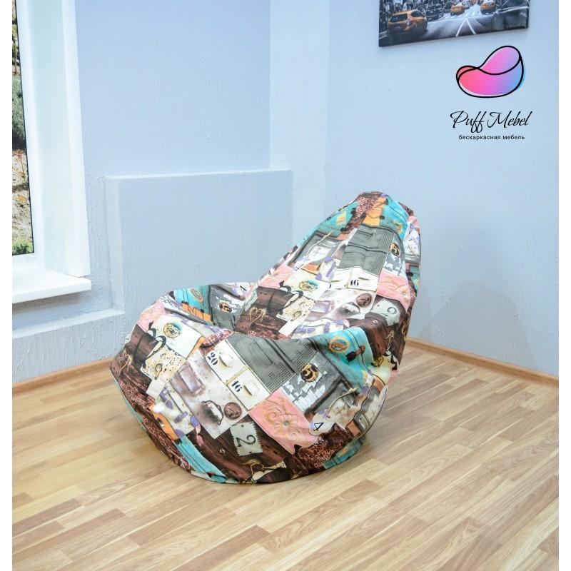 Кресло-мешок Груша Вояж ( Жаккард )