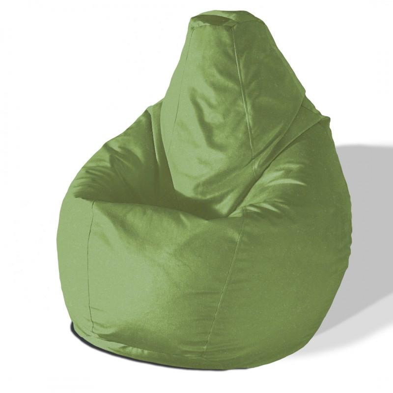 Кресло груша Яблоко велюр