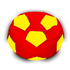 Кресло-мешок Мяч Красно-Желтый