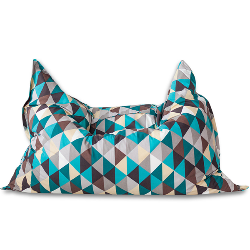 Кресло мешок Подушка Relax Ромб (материал Жаккард)
