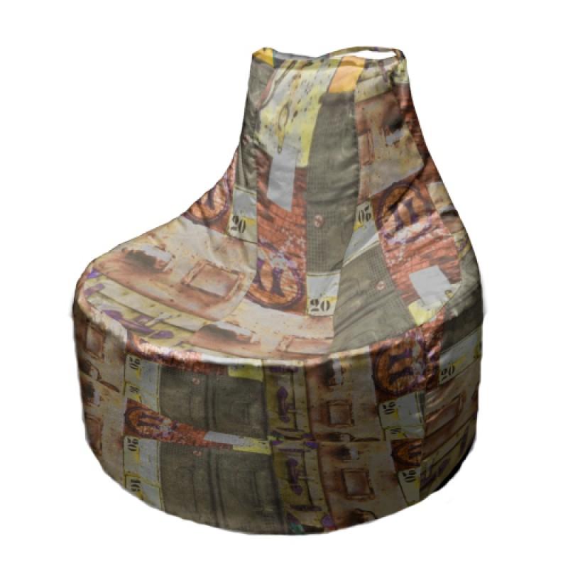 Кресло-мешок Банан ( Жаккард )