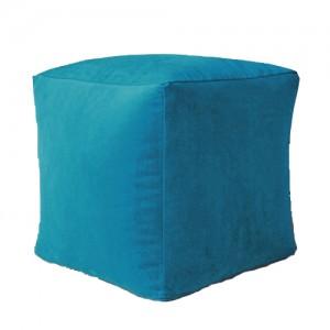Пуф Кубик Морская волна ( Велюр )