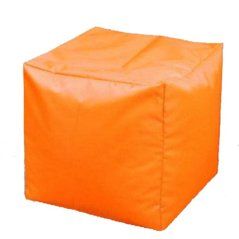 Пуф Кубик Оранжевый