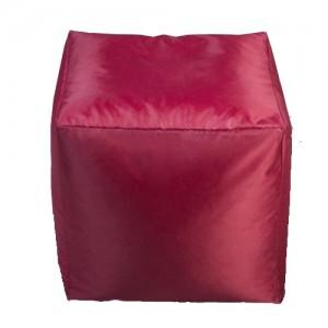 Пуф Кубик Светло-Бордовый
