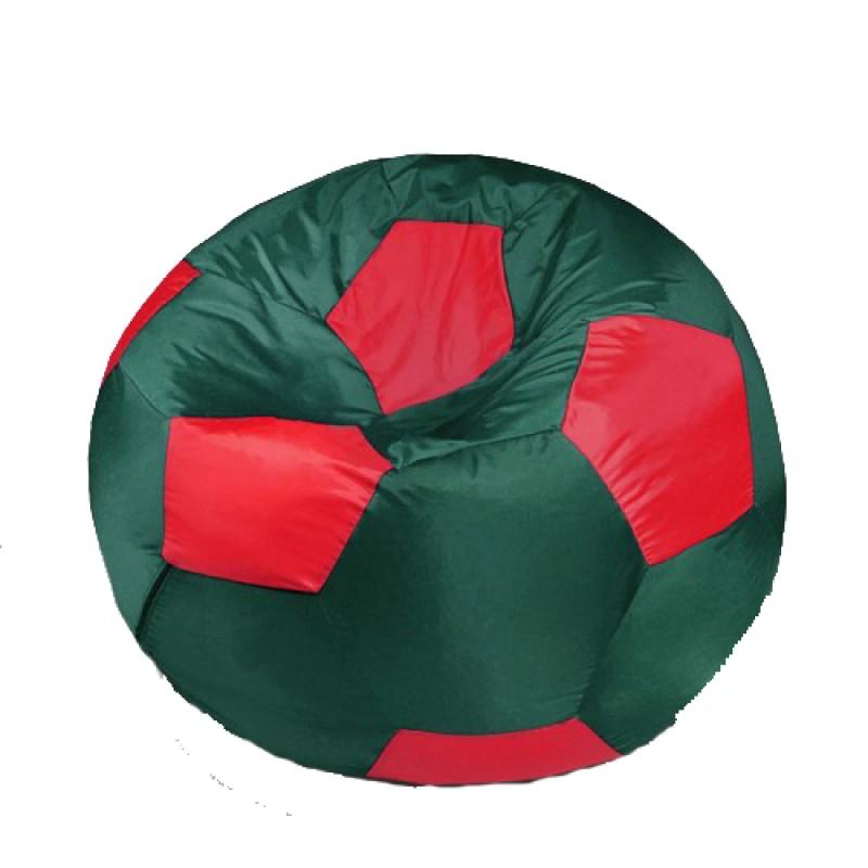Кресло-мешок Мяч Красно-Зеленый