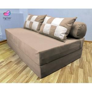 Диван-трансформер Sofa Roll Капучино