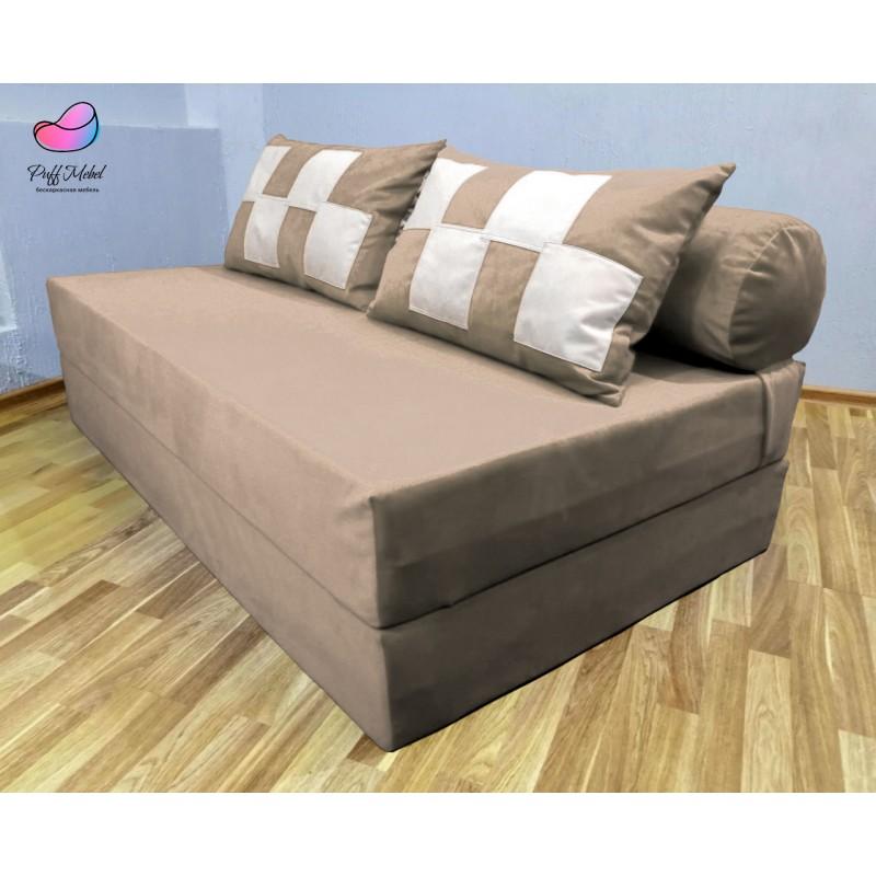 Диван-трансформер Sofa Roll Long  Капучино