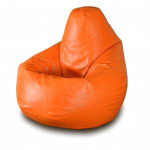 Кресло-мешок Оранжевая кожа ( Экокожа )