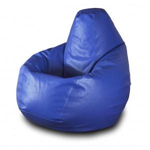 Кресло-мешок Синяя кожа ( Экокожа )