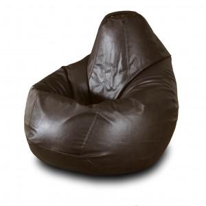 Кресло-мешок Коричневая кожа ( Экокожа )