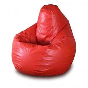 Кресло-мешок Красная кожа ( Экокожа )