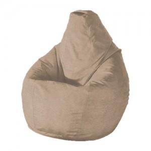Кресло-мешок Молочный шоколад ( Экокожа )