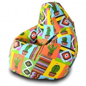 Кресло-мешок Груша Кактус ( Жаккард )