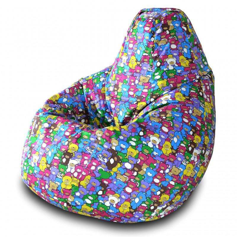 Кресло-мешок Груша Мишки ( Жаккард )