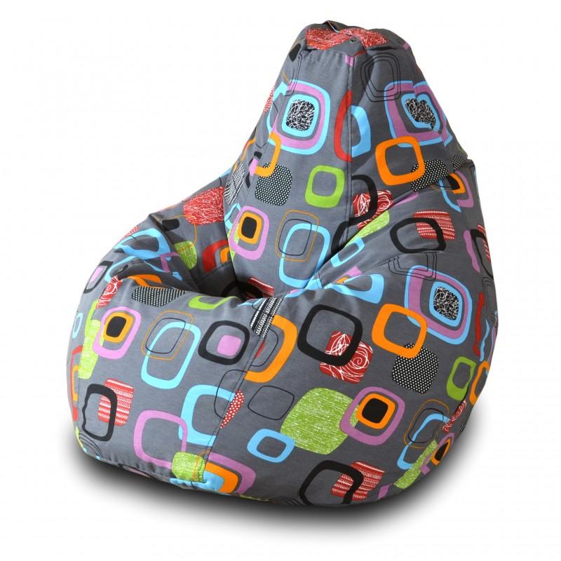 Кресло-мешок Груша Мумбо ( Жаккард )