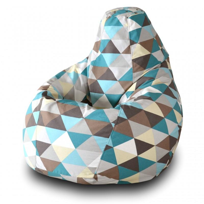 Кресло-мешок Груша Ромб ( Жаккард )