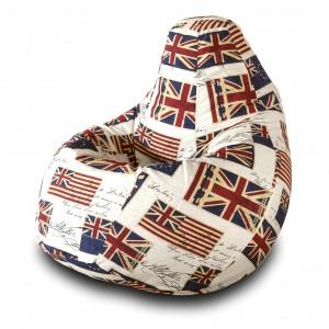 Кресло-мешок Груша Флаг ( Жаккард )