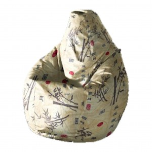 Кресло-мешок Груша Иероглефы ( Жаккард )