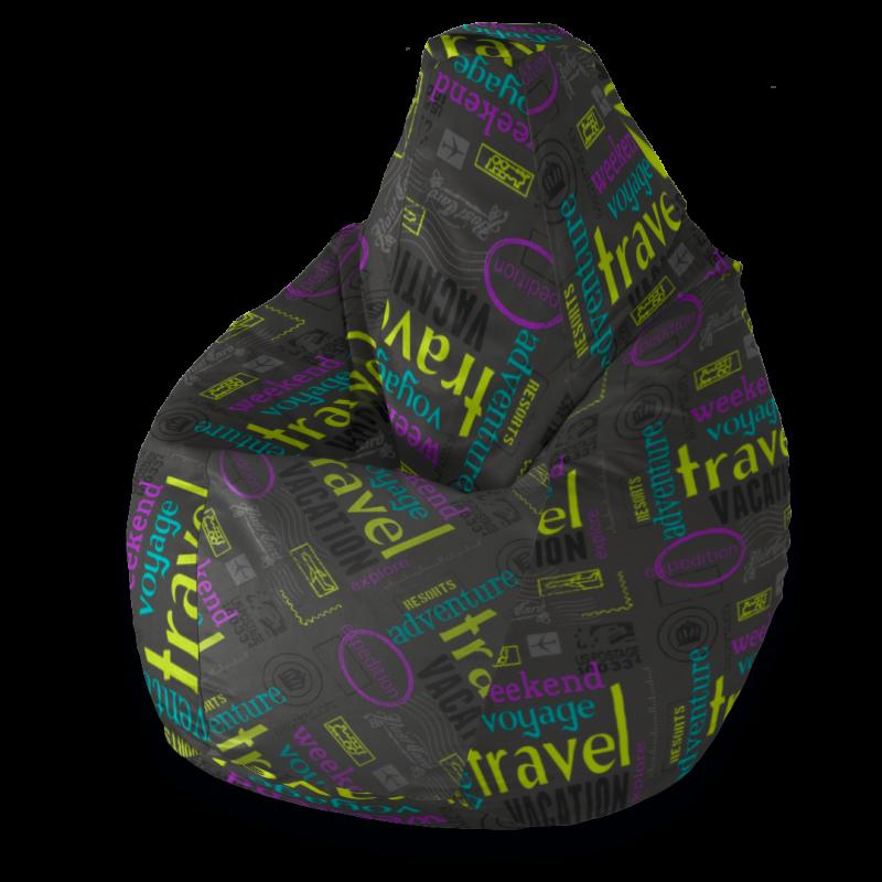 Кресло-мешок Груша Тревел ( Жаккард )