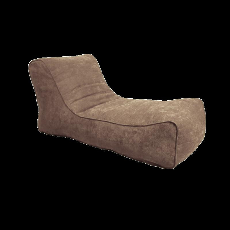 Кресло-мешок Лежак Светло-коричневый (Рогожка)