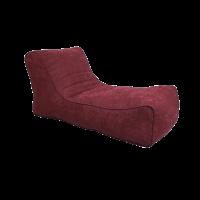 Лежак Бордовый ( Рогожка)