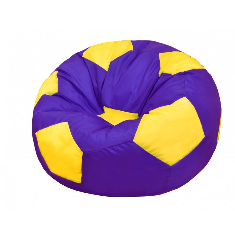 Кресло-мешок Мяч Фиолетово-Желтый
