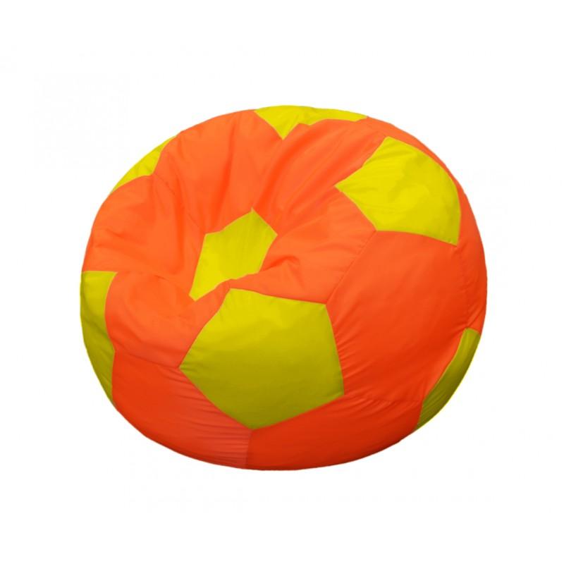 Кресло-мешок Мяч Оранжево-Желтый
