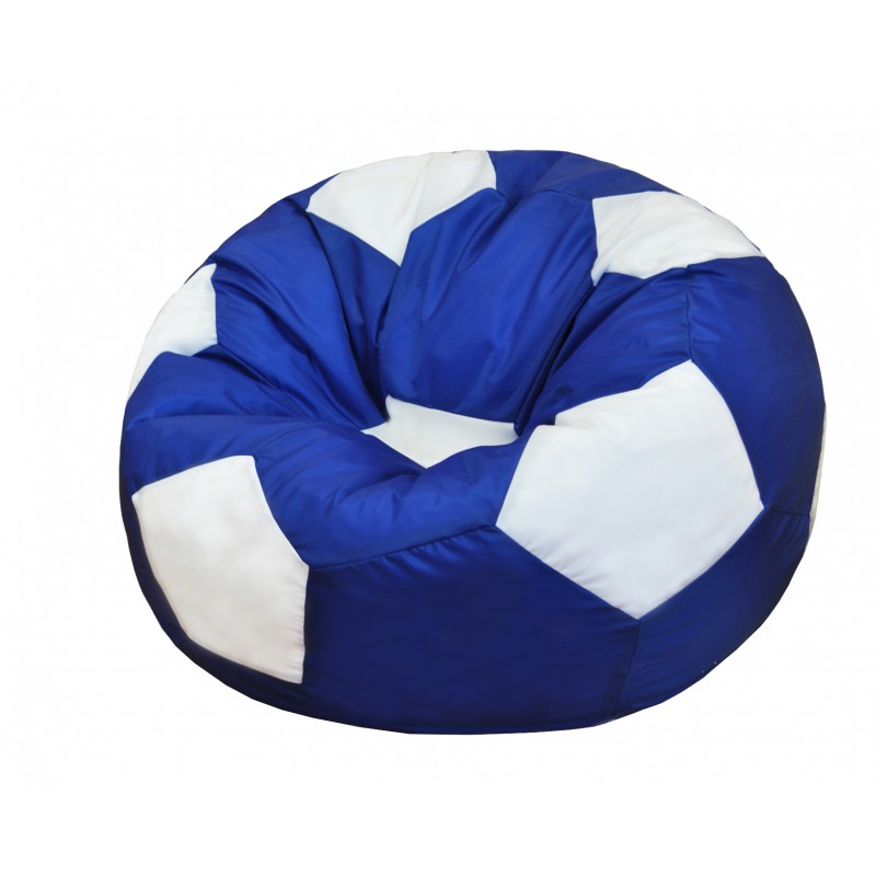 Кресло-мешок Мяч Сине-Белый