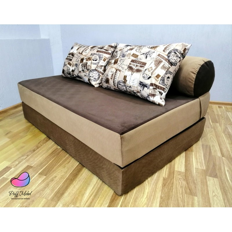 Диван-трансформер Sofa Roll Long (Капучино)