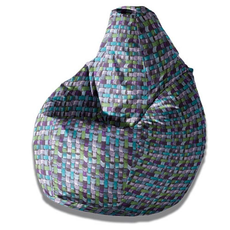 Кресло груша Фиолетовая Андора