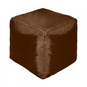 Пуф Кубик Шоколадный