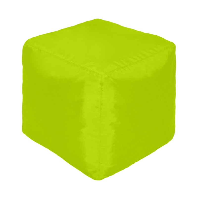 Пуф Кубик Лимонный