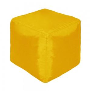 Пуф Кубик Желтый