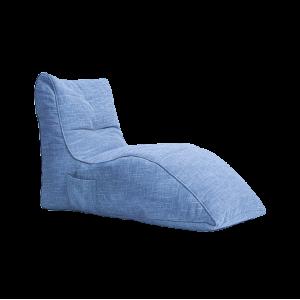 """Кресло-мешок """"Релакс"""" Шезлонг (Голубое)"""