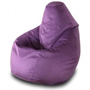 Кресло груша Баклажан