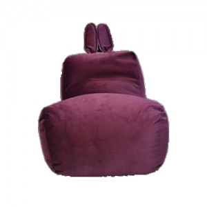 Кресло-мешок Заяц Ягодный (Велюр)