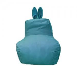 Кресло-мешок Заяц Морская волна (Велюр)